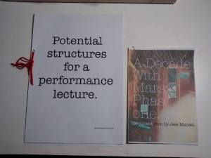 performance lecture